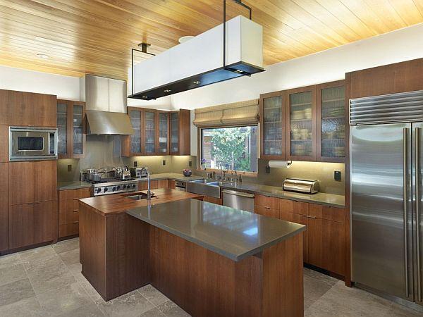 Creative Wooden House Design Ideas by MacCracken Architects kitchen