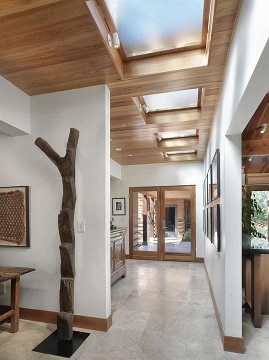 Creative Wooden House Design Ideas by MacCracken Architects shady inside