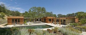 Creative Wooden House Design Ideas by MacCracken Architects with pool