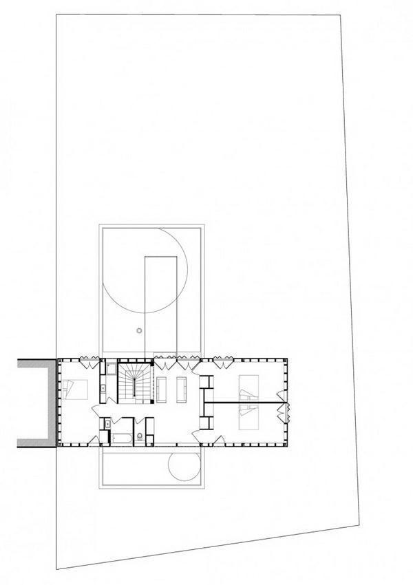 Creative and Beautiful Home Design Inspiration for uneven ground middleroom siteplan