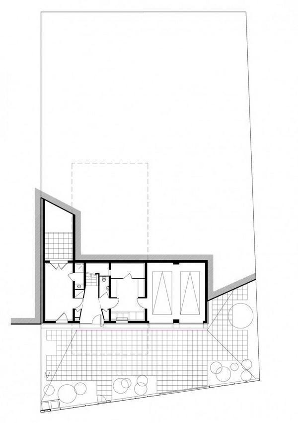 Creative and Beautiful Home Design Inspiration for uneven ground secondfloor siteplan