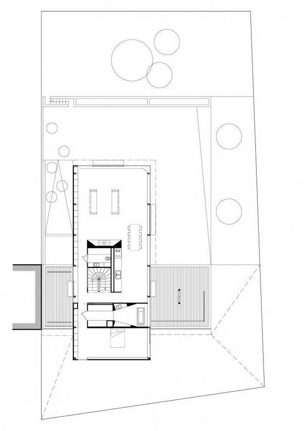 Creative and Beautiful Home Design Inspiration for uneven ground siteplan