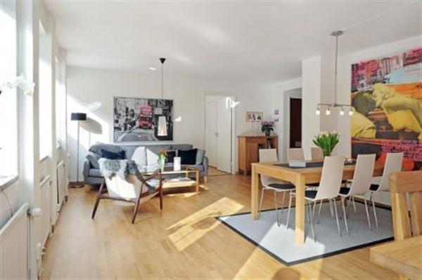 Delightful Apartment interior Design in Sweden