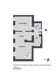 Delightful and Elegant Apartment Design siteplan