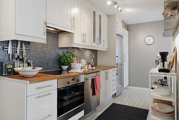 Delightful and Elegant kitchen Design inspiration by Alvhem