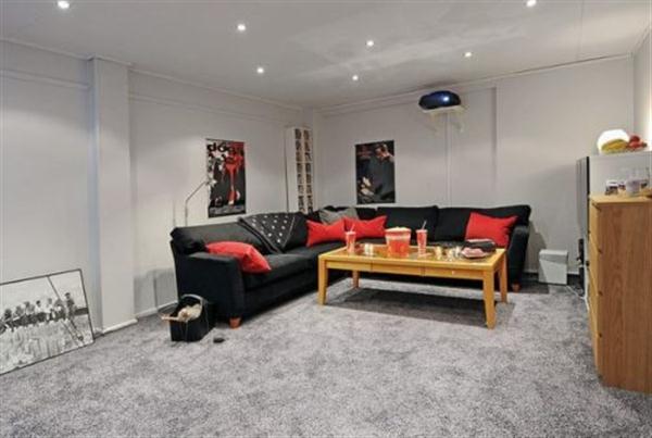 Delightful home theatre Design Ideas in Sweden