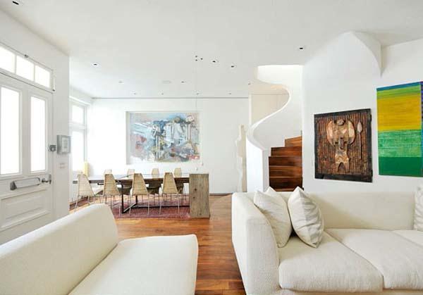 Delightful white Home Interior design Ideas in London