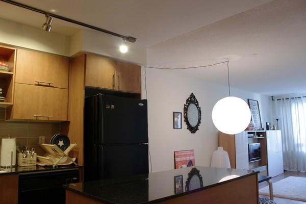Japanese Apartment Design Inspiration with circle lamp