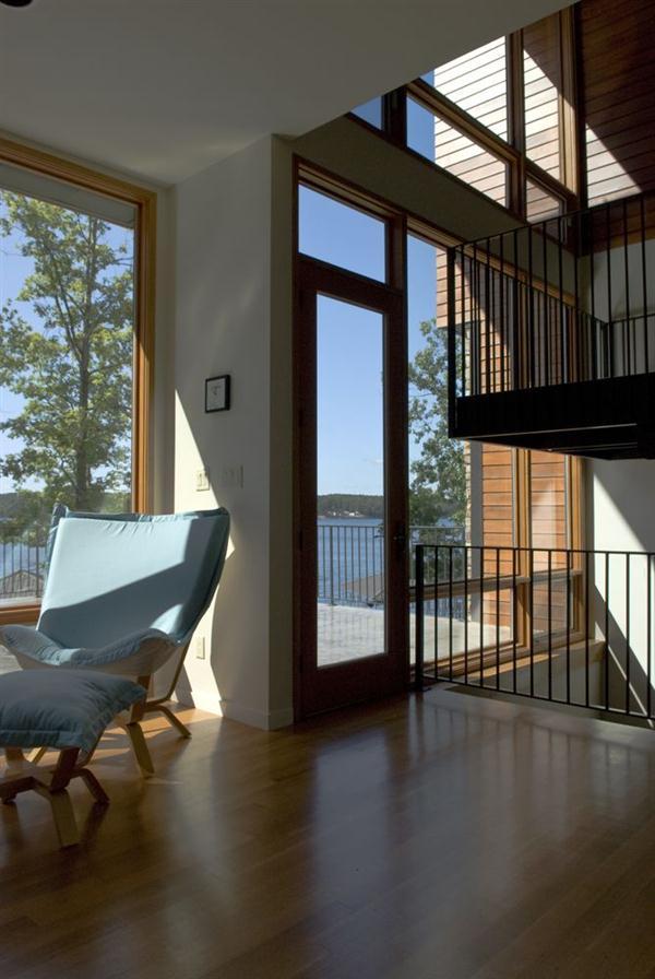 Luxurious Wurzburg Lakehouse Design cozy corner