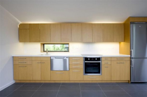 Minimalist kitchen design on The Mendoza Lane House