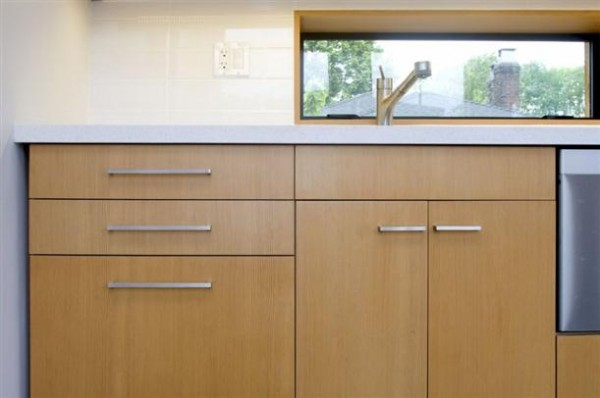 Simply and elegant kitchen shelves on amazing The Mendoza Lane House