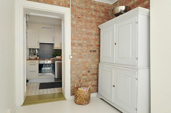 Unique kitchen Design on duplex apartment with Stylish Concept