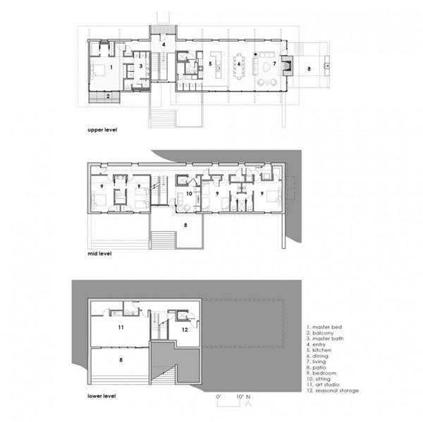 Wurzburg Lakehouse Design by Archimania siteplan