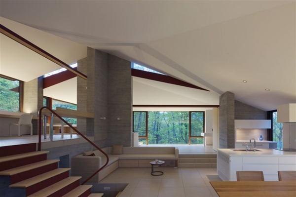 amazing Villa Design Inspiration in Nagano Japan
