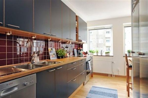 bright and natural kitchen Design Ideas in Sweden