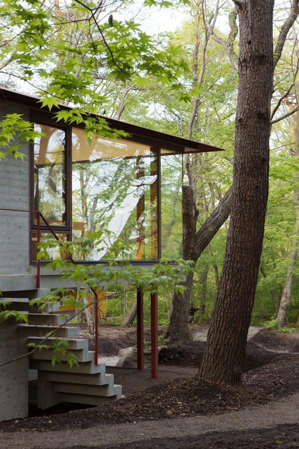 green Villa Design Inspiration in Nagano Japan