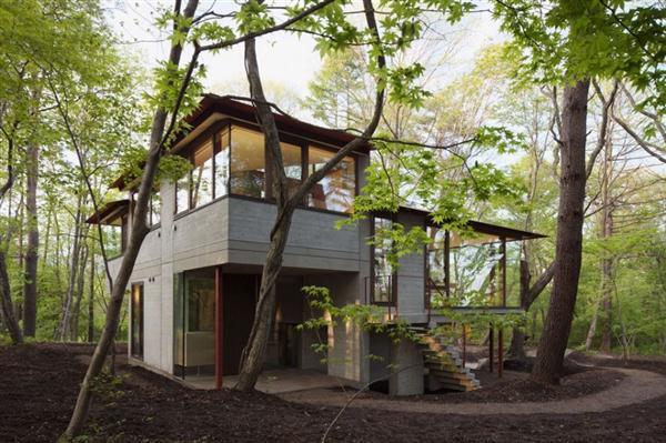 shidy Villa Design Inspiration in Nagano Japan