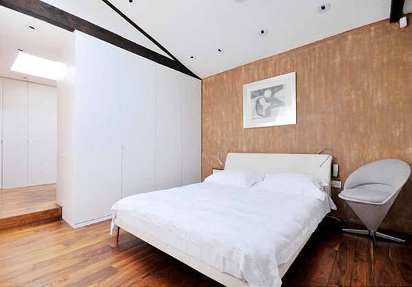 simply bedroom Design with Artistic Interior Ideas in London