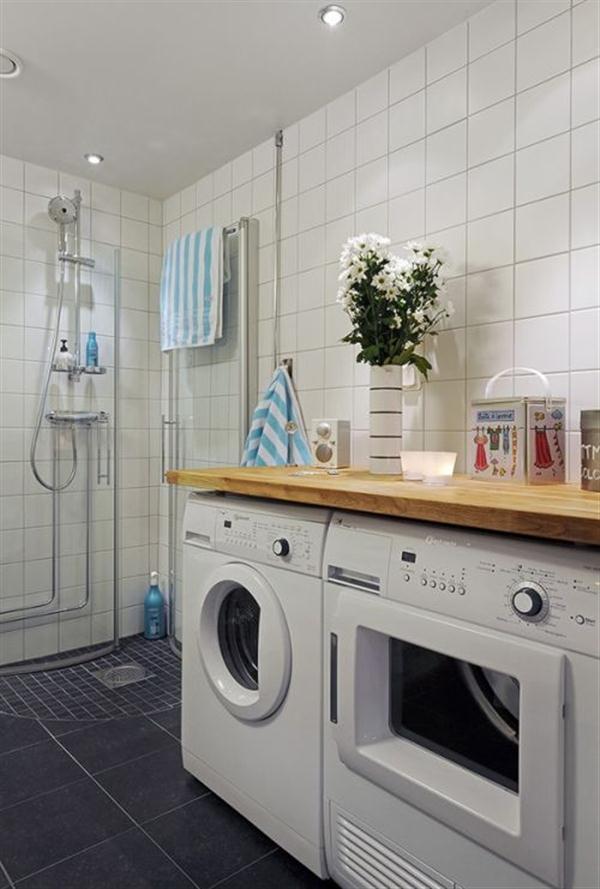 simply laundry corner Design Inspiration in Sweden