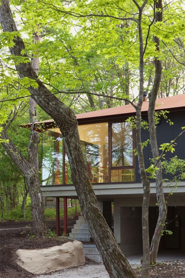 unique Villa Design Inspiration in Nagano Japan