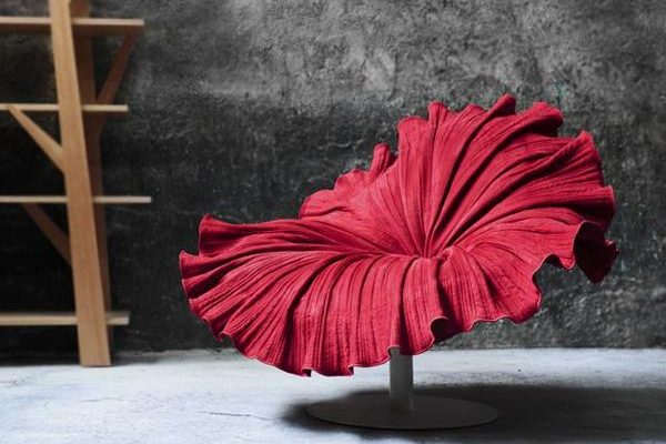 Creative Flower Chair by Kenneth Cobonpuere