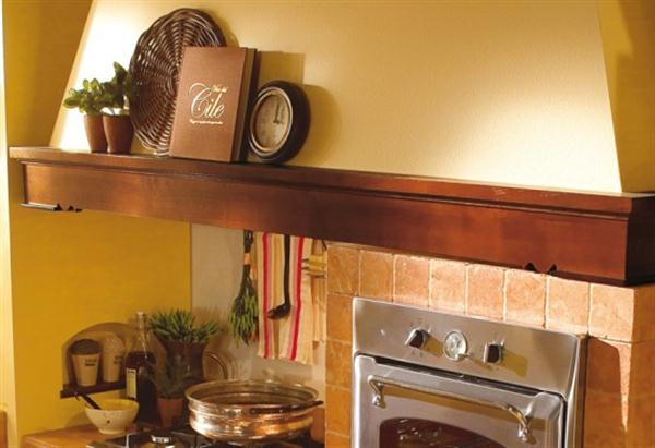Beautiful Wide Italian Range Hoods Design beige