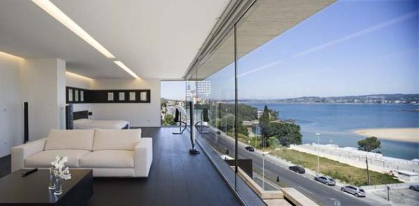 Bright Home Design Inspiration from A ceros Galicia outside view