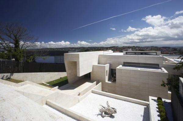Bright Home Design Inspiration from A ceros Galicia with mini garden