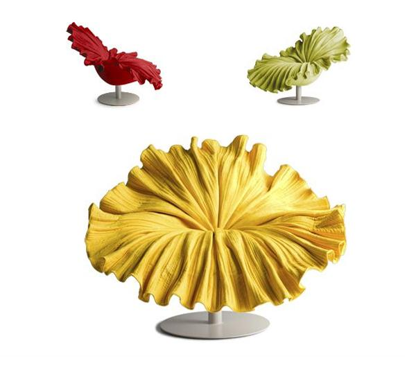 Creative and Beautiful Flower Chair Design by Kenneth Cobonpuere