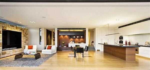 Delightful and stylish home interior Design by Corben Architects