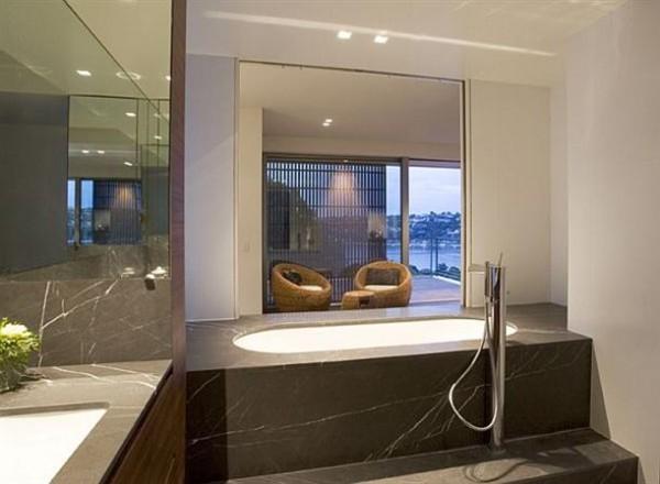 Delightful bathroom Design by Corben Architects