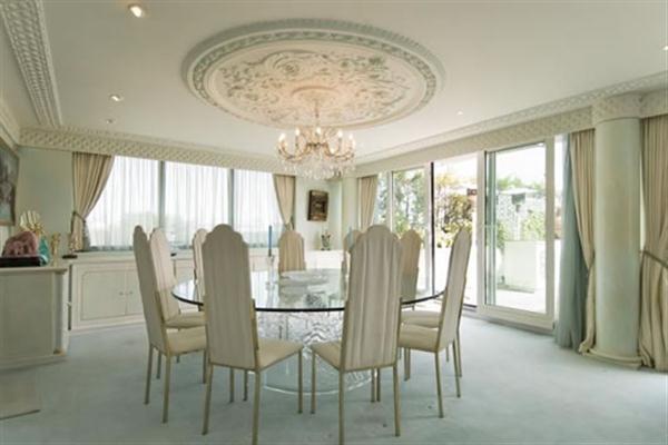 Elegance Duplex Apartment Design with wide window inspiration