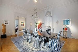 Elegance and gorgeous dinning room Design with Classical Style in Stockholm
