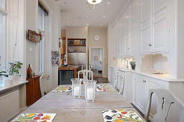 Elegance kitchen Design with Classical Swedish Style in Stockholm