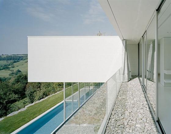 Elegant and Modern White Germany House Design From inside