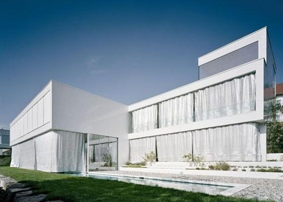 Minimalist White Germany House Design