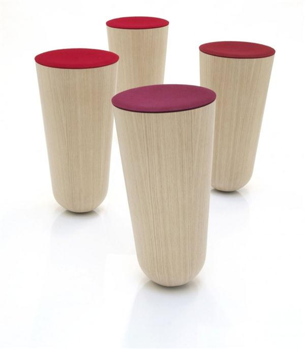 Extraordinary Out of Balace Stool by Thorsten Franck