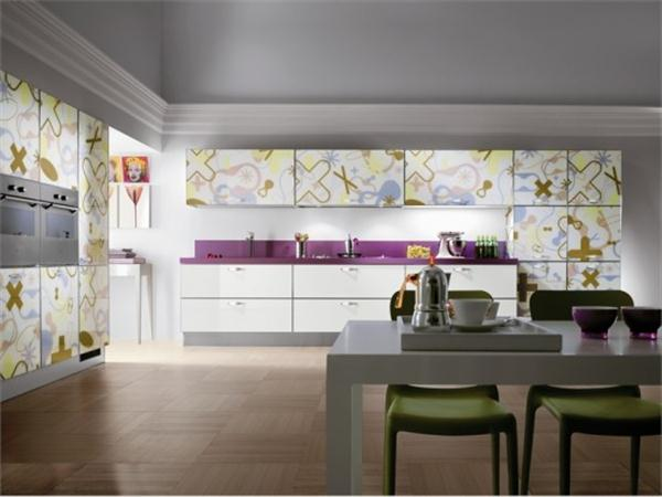 Eye catching and Funny Kitchen Design Ideas by Scavolini