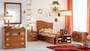Funny and Attractive brown Sea Themes Kids Bedrooms by Caroti