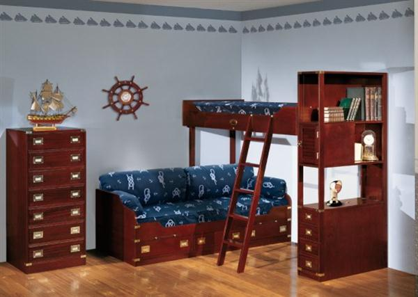 Funny and Attractive grey Sea Themes Kids Bedrooms by Caroti