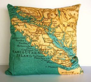 Funny and Delightful Vancouver Pillows by Bearded Pigeon