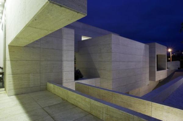 Futuristic Home Design Inspiration from A ceros Galicia at night