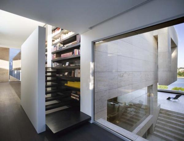 Futuristic Home Design Inspiration from A ceros Galicia bookshelves