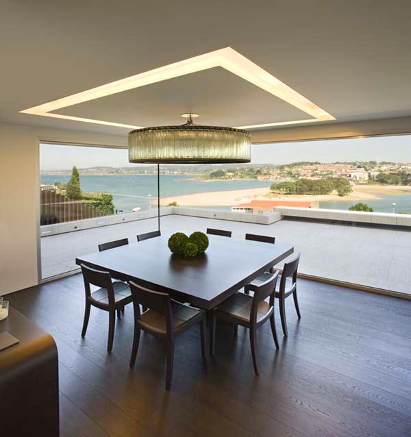 Futuristic Home Design Inspiration from A ceros Galicia dinning room