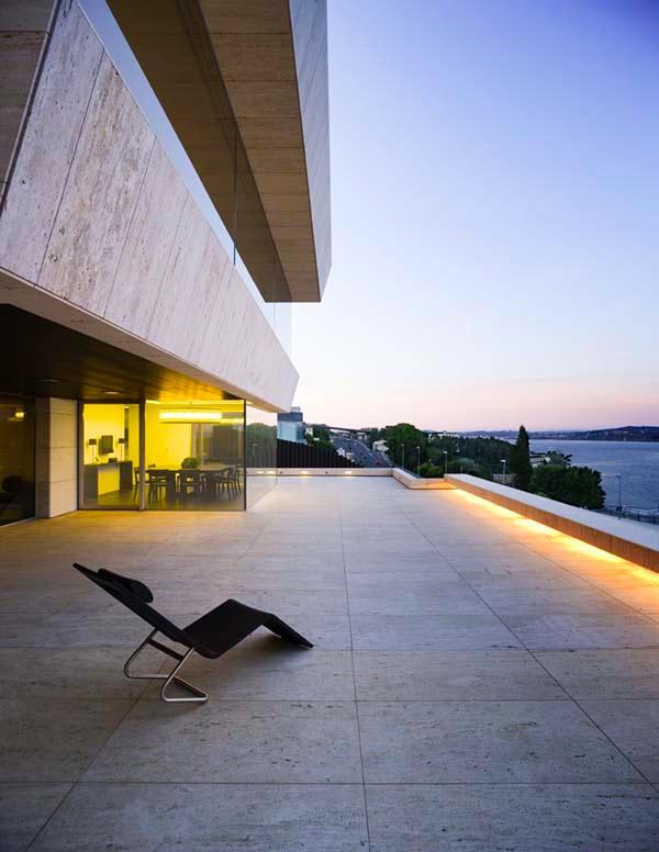 Futuristic Home Design Inspiration from A ceros Galicia terrace
