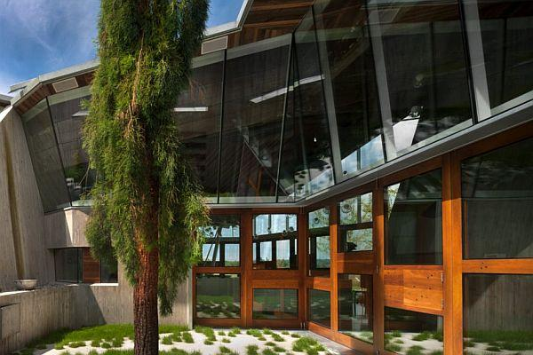 Futuristic Home Design with Many Amazing Pendant Lamp exterior