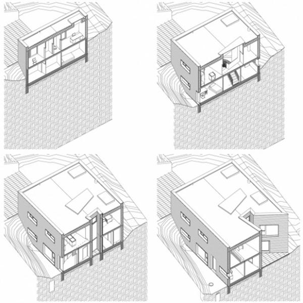 Futuristic Wooden Home Design Ideas complete siteplan