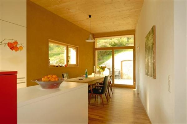 Futuristic Wooden Home Design Ideas from Vienna dinning room