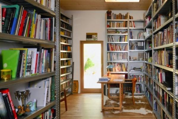 Futuristic Wooden Home Design Ideas from Vienna reading corner