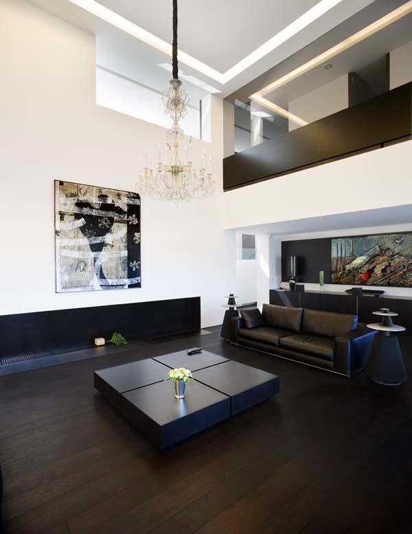 Futuristic and Bright Home Design Inspiration from A ceros Galicia livingroom